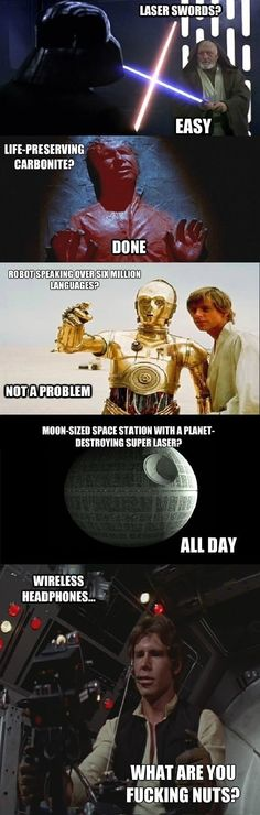 Star Wars logic // funny pictures - funny photos - funny images - funny pics - funny quotes - #lol #humor #funnypictures