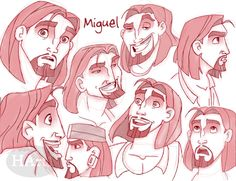 Miguel Sketches by HArt1 on DeviantArt