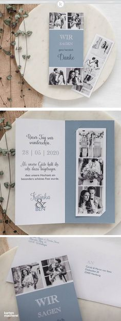 Pack von 100 Hochzeitstag rustikales Land Dankeskarten mit Umschlägen