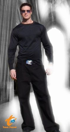Zak Bagans of Ghost Adventures Hey Mr. Muscle... why so scared of a barbie??? lol Love yooh Zak!!!! I'm your HUGEST GAC FAN IN DA WORLD!!!!!!!!!!!!!!!!!!!!!!!!!!!!!!!!!!!!!