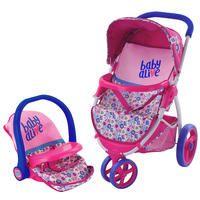 Baby Alive Doll Stroller Kmart In 2020 Baby Alive Baby Alive