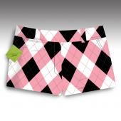 So addicted to these golf clothes. cute and comfy to play in-- Pink & Black-SS Girls Golf, Ladies Golf, Cute Golf Outfit, Golf Attire, Hole In One, Sporty Girls, Golf Fashion, Mini Shorts, Golf Shirts