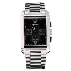 Armani Mens AR0334 Classic Stainless Steel Watch