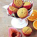 Muffin orange et pavot