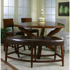 Dining sets kitchen table dining set with bench wood table dining