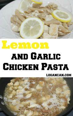 Garlic and Lemon Chicken Pasta Recipe
