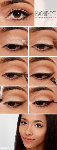 Make up pięknie powiększający oko
