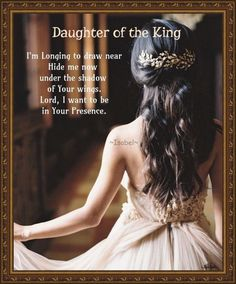Daughter of the King. ~Isabel~