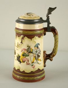 Image detail for -METTLACH GNOME STEIN #2184 : Lot 55