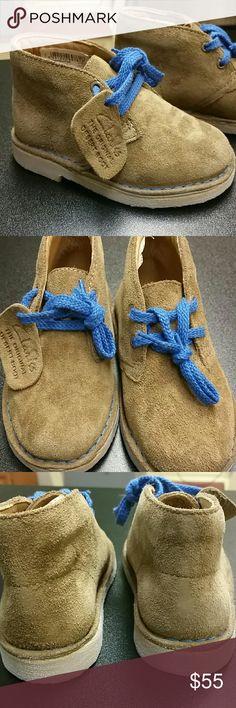 b2e4e7597c180 Infant desert boots Clarks infant original desert boot. Wide width . Suede  Clarks Shoes Baby