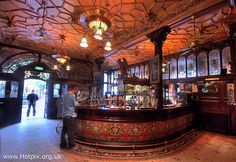 365-035 Philharmonic Pub, Hope St Liverpool, Art Nouveau interior Merseyside UK by Hotpix [LRPS], via Flickr