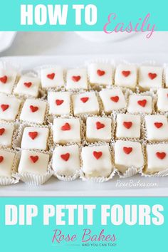 Click over to Rose Bakes for a full photo tutorial and recipe petitfours dessert cake recipe buttercake tutorial Petifores Recipe, Icing Recipe, Recipe Photo, Halloween Petit Fours, Petit Fours Recipe Easy, Recipe For Petit Four, Petite Fours Recipe, Cupcakes, Cupcake Cakes