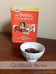 Got braces? Finding braces friendly food can be a challenge. This book takes all the guesswork out of what is good and what is not for those who have braces. Great ideas and tips! | The Braces Cookbook Review #ad - Meal Planning Magic