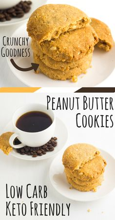 Low Carb Peanut Butter Cookies via @fatforweightlos