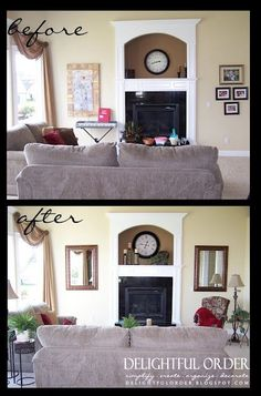 Staging a Home.  Good ideas for regular decorating too.