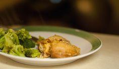 AIP Friendly Slow Cooker Honey Garlic Chicken
