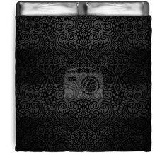 Black Paisley Duvet Cover at http://www.visionbedding.com/black-paisley-pattern-queen-full-duvet-cover-p-3093396.html