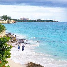 On this cold and dark Monday morning I'm thinking back to last Monday and this view.  #cupecoy #stmaarten #stmartin #sintmaarten #beach #ranta #rantaloma #loma #vacation #caribbean #karibia #travel #matkalla #reissu (via Instagram)