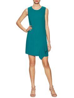 Wylda Asymmetrical Shift Dress from Diane von Furstenberg Apparel on Gilt