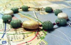 Flower Bracelet by HabibiShabibiDesigns on Etsy, $27.00