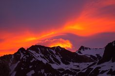 Mount Oconcagua, Argentina.  22,841 feet