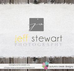 Premade logo for Photographer Logo and Photography Logo Design Name Text Logo. $30.00, via Etsy.