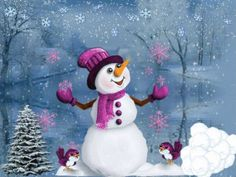 The perfect WinterBreak SnowWoman Snowman Animated GIF for your conversation. Discover and Share the best GIFs on Tenor. Christmas Scenes, Christmas Pictures, Christmas Snowman, Winter Christmas, Christmas Time, Christmas Crafts, Christmas Decorations, Merry Christmas, Frosty The Snowmen