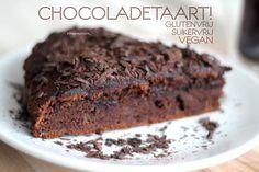 Recept: Chocoladetaart! Glutenvrij, Suikervrij en Vegan(istisch)!
