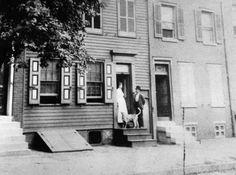 Walt Whitman House, Walt Whitman. 328 Mickle Street, Camden, New Jersey