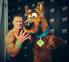 John Cena and Scooby Doo