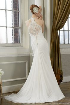 moonlight collection fall 2013 wedding dress style j6274 back detail