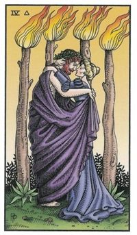 Four of Wands, Alchemical Tarot