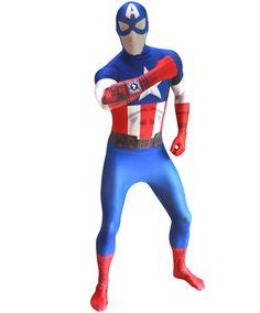 Интерактивный костюм Капитана Америки взаимодействует с приложением для смартфонов (см. видео). В костюме предусмотрено место для крепления телефона, для создания эффекта светящийся звезды на груди. перейти в интернет-каталог с ценами и отзывами — http://fas.st/E889K
