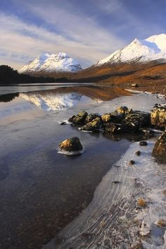 Liathach reflected
