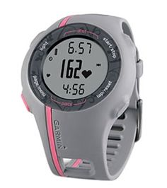 Love this watch.  It calculates your distance run with GPS, pace and heart rate.  Merry Christmas honey??