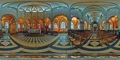 Chœur de l'église Notre-Dame-du-Cap-Lihou de Granville  -  France © Pascal Moulin