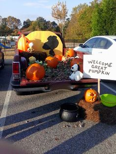 Trunk or Treat-The Great Pumpkin!