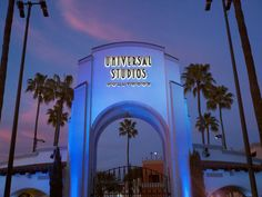 Light it up blue at Universal Studios
