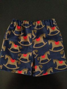 Rocking Horse Baby Boy Shorts. $13.50 (FREE Shipping within Australia). Handmade. Find us on Facebook; BoyCot Baby.
