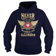 Pole in IllinoisPole in Illinois? This hoodie & T-Shirt is yours now!  Choose your color style and Buy it now. Not available in stores. 100% statifaction guarantee or your money back! (for ANY reason)  TIPs: Order 2 of more you save on shipping!  => P/s: If you dont like this design = > You can find more by type in SEARCH BARPole in Illinois