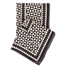 Resist Tile Java Throw design by Pine Cone Hill