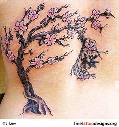 New cherry tree tattoo life 20 Ideas Pine Tattoo, Tree Tattoo Meaning, Tattoos With Meaning, Tattoo Meanings, Cherry Blossom Tree, Blossom Trees, Tattoo Life, Scar Tattoo, Tattoo Art
