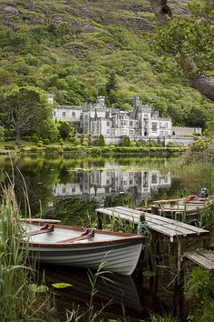 Kylemore Abbey in Connemara, County Galway, Ireland (by Dkammy) - Favorite Photo. - Kylemore Abbey in Connemara, County Galway, Ireland (by Dkammy) – Favorite Photoz - Places Around The World, Oh The Places You'll Go, Places To Travel, Places To Visit, Around The Worlds, Travel Destinations, Beautiful World, Beautiful Places, Beautiful Castles