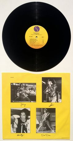 Ramones Road To Ruin LP Vinyl Record Album Sire by ThisVinylLife