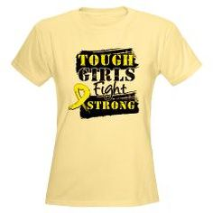 Tough Girls Fight Strong Ewing's Sarcoma Shirts by www.hopedreamsdesigns.com