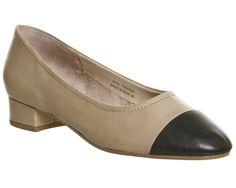 Lotus Block Heel Ballet