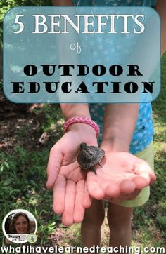 How often do your classroom students step outside and explore the world around them? Here are some reasons why we should make an effort to get outside. Outdoor Fun For Kids, Outdoor Activities For Kids, Outdoor Play, Outdoor Learning Spaces, Outdoor Education, Environmental Education, Science Education, Project Based Learning, Fun Learning