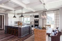 Parade of Homes - Trinity Homes - Custom Kitchen and Dining Room - Custom Ceilings - Open Kitchen