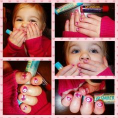 Valentines Nails Jamberry Juniors!  She can match mommy!  Love this nail art!  Find this month only at www.bkimball.jamberrynails.net