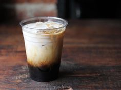 Cold brewed coffee w/ chicory